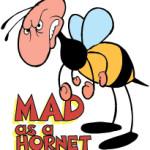 Идиома дня: MAD AS A HORNET